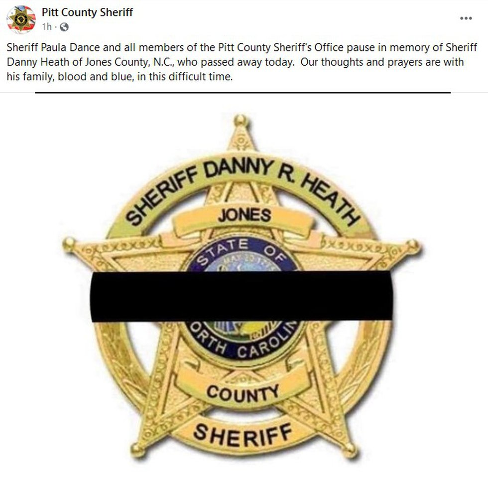 Pitt County Sheriff Paula Dance remembers Sheriff Heath