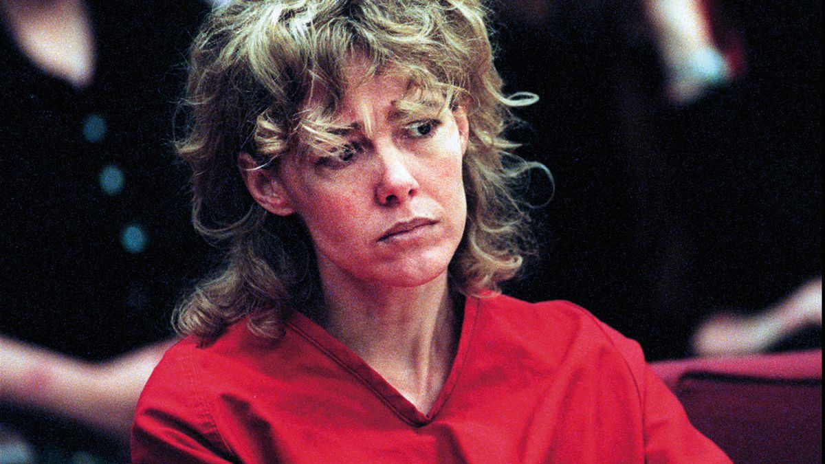 In this Feb. 6, 1998, file photo, Mary Kay Letourneau listens to testimony during a court hearing in Seattle.