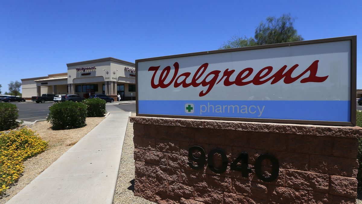 This June 25, 2018 file photo shows a Walgreens store in Peoria, Ariz.