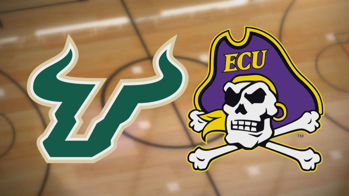 USF at ECU Basketball