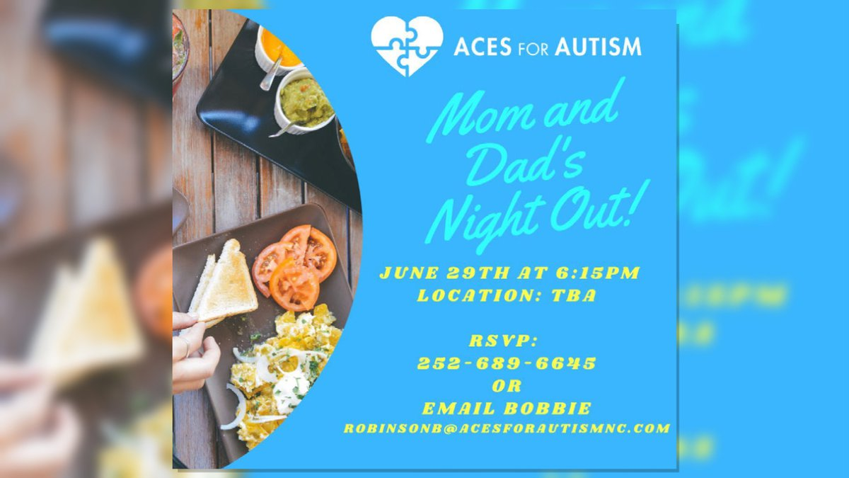 """Aces for Autism - """"Mom and Dad's Night Out!"""""""