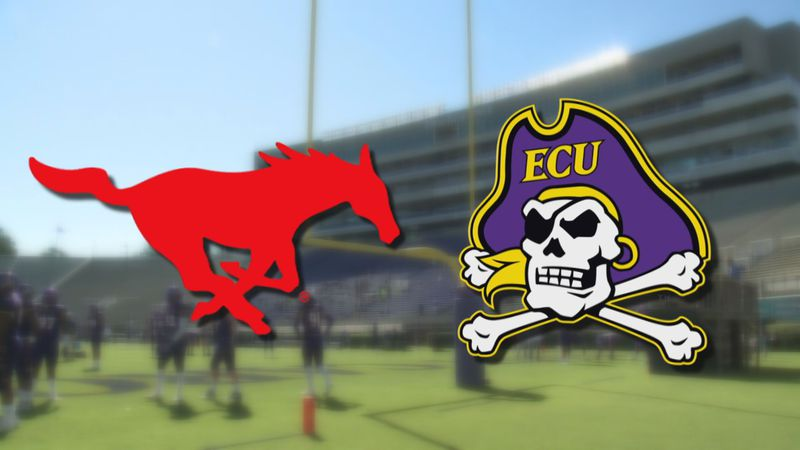 SMU at ECU Football