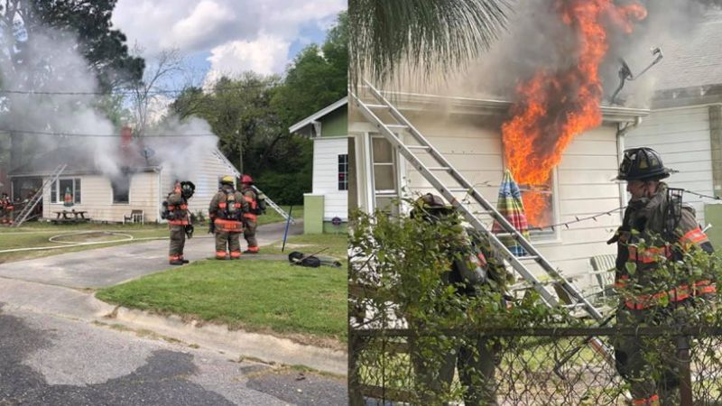 Goldsboro home damaged in fire