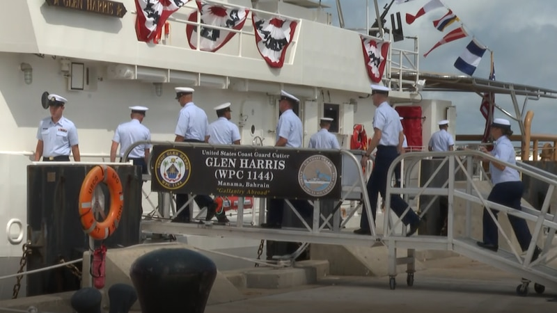 New Coast Guard ship commissioned at Fort Macon.