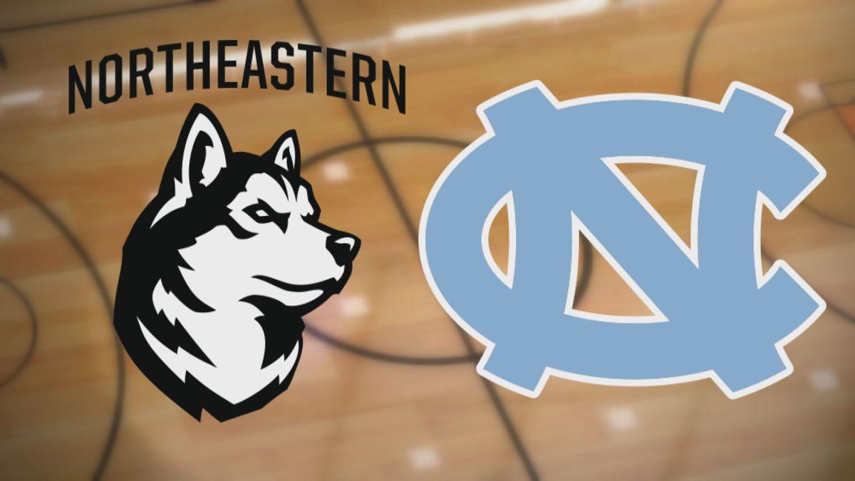 Northeastern at UNC Basketball