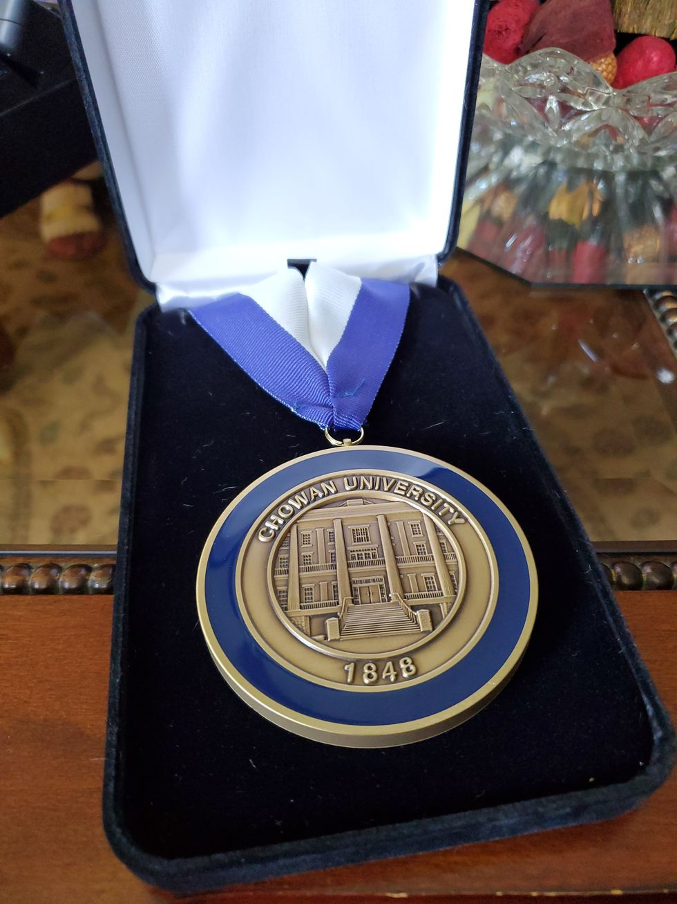 The Spirit of Chowan Award was given to a teacher Monday in Murfreesboro.