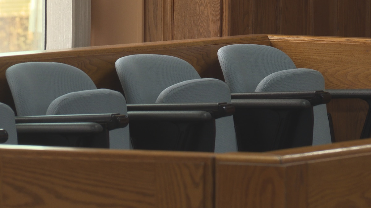 Jury trials still on hold