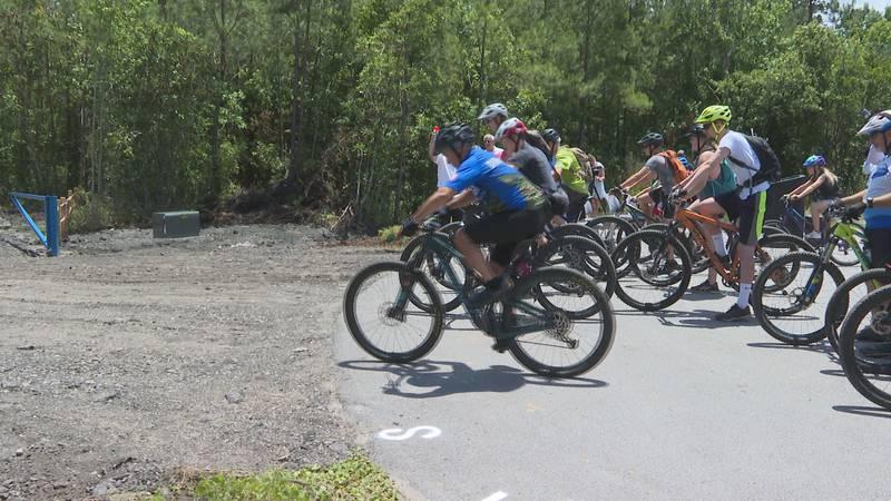Big Branch Bike Park opens in Onslow.
