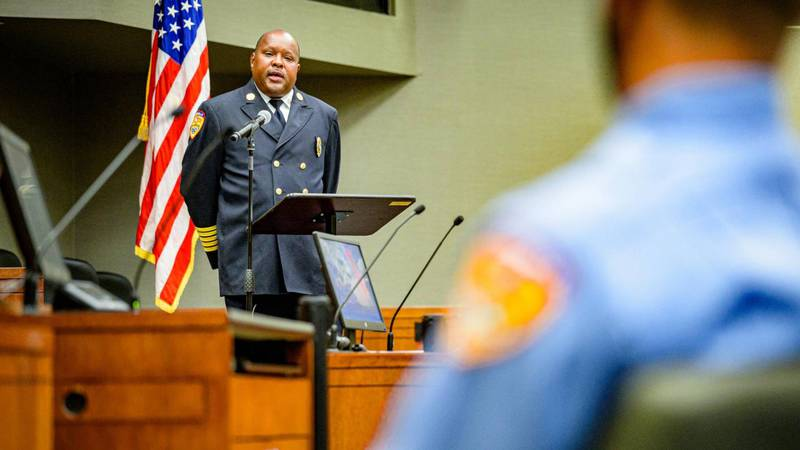 Greenville Fire/Rescue Chief Eric Griffin announced he's resigning, effective immediately on...