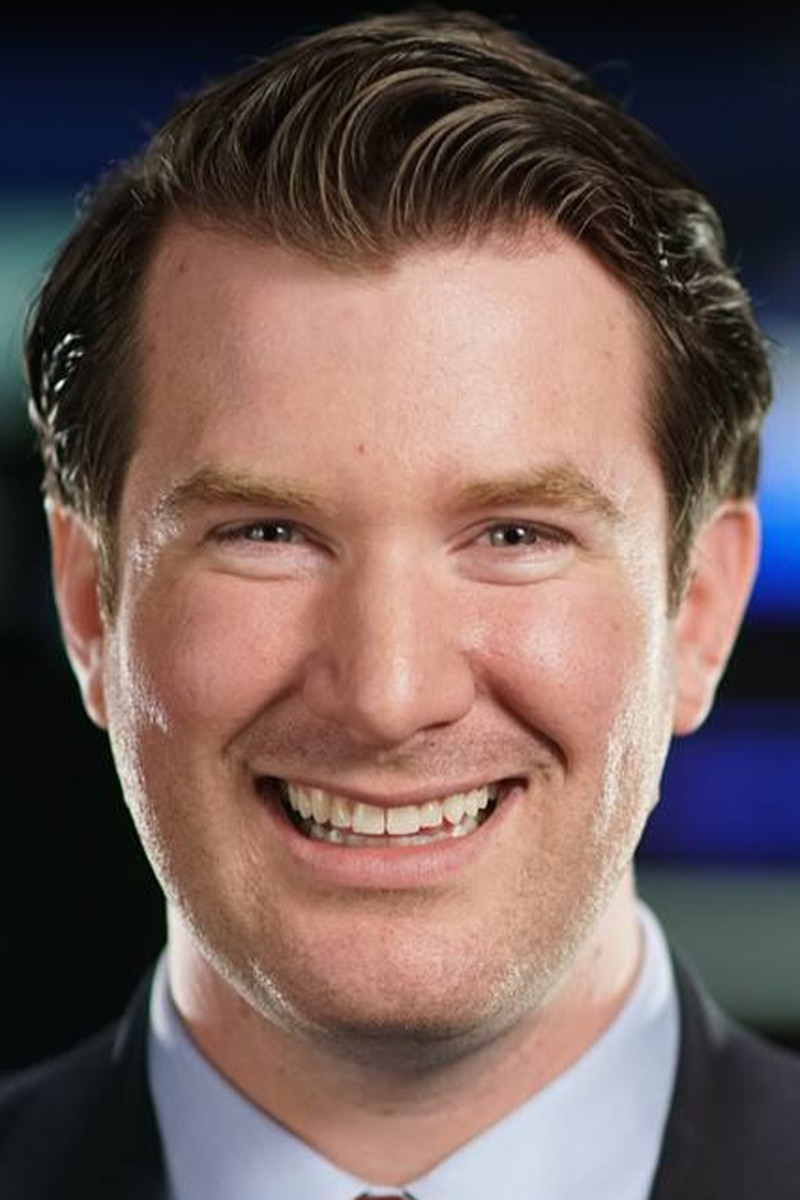Headshot of Charlie Ironmonger, Meteorologist