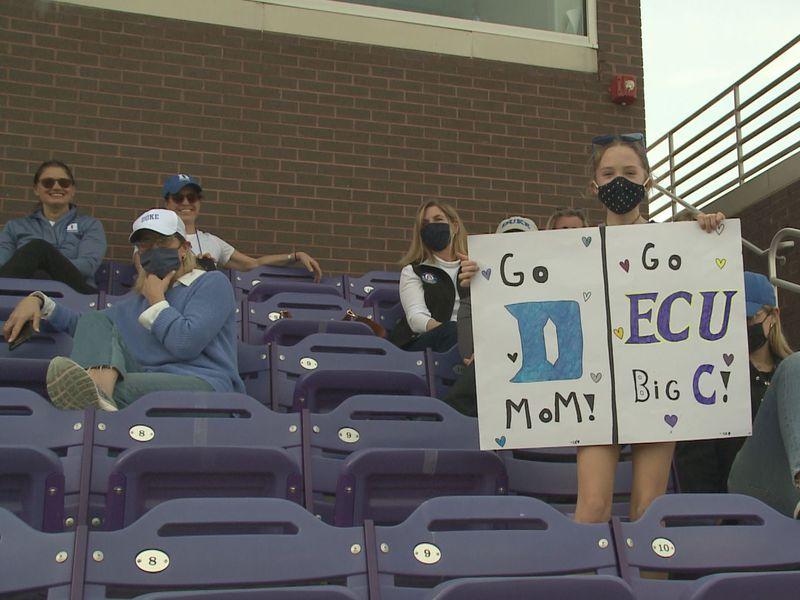 Duke visits ECU women's lacrosse