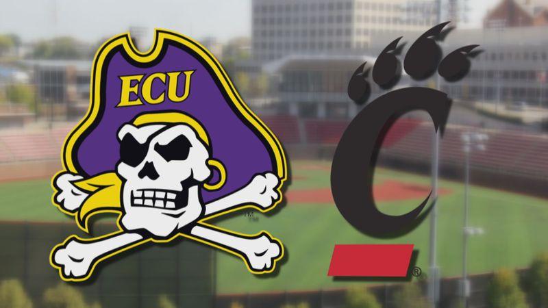 ECU Baseball at Cincinnati