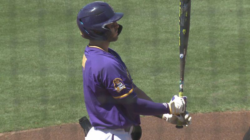 Connor Norby ECU Baseball