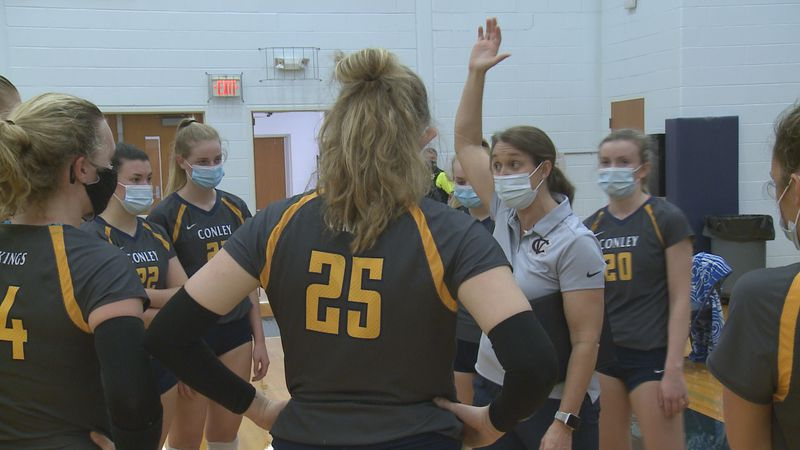 D.H. Conley Volleyball 3rd Round 1-16-21