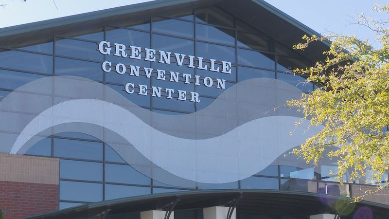 Greenville Convention Center will be a large-scale COVID-19 vaccine site starting Monday.