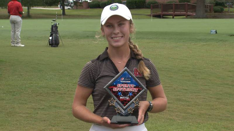 New Bern's Maddy Vogan is our Pepsi Sports Spotlight .