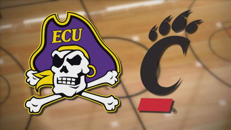 ECU at Cincinnati Basketball