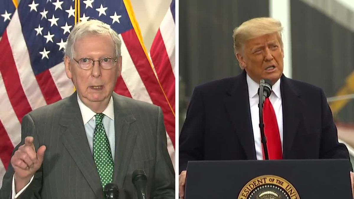 "The ""New York Times"" is reporting McConnell thinks Trump committed impeachable offenses and..."