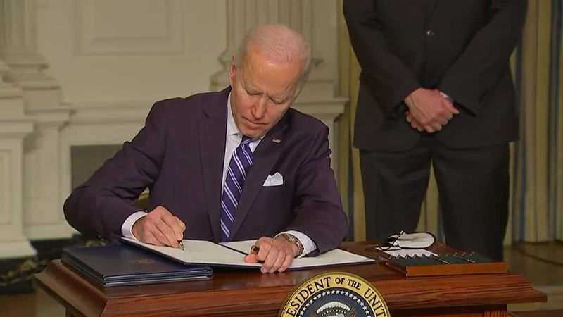 Biden's fist 100 days: COVID and climate change