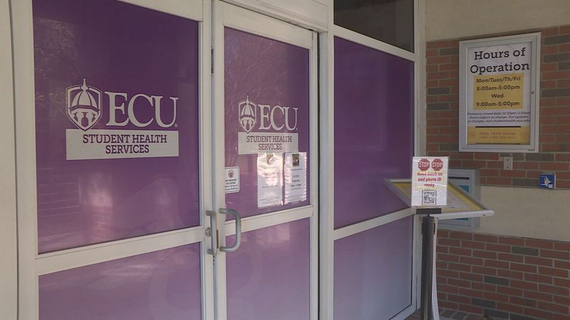 ECU  urges students to get tested for COVID-19 before leaving.
