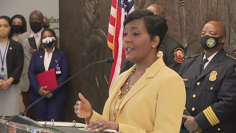Atlanta Mayor Keisha Lance Bottoms discusses the reasoning behind her decision.