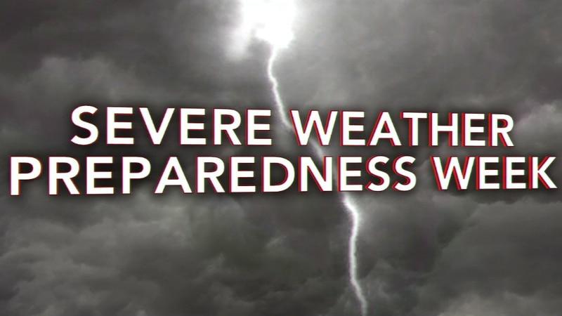 Prepare now; advice during Severe Weather Preparedness Week