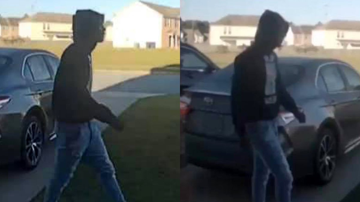 This is a person of interest in a firearm theft in Greenville.