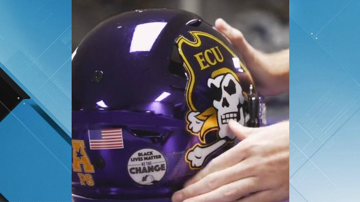 ECU football players allowed to wear social justice patch