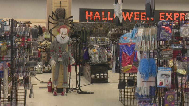 Halloween Express in Greenville has booming business this year.
