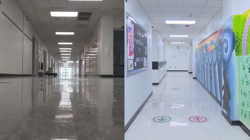 Students at Northside High School created a video showing how the coronavirus pandemic changed...