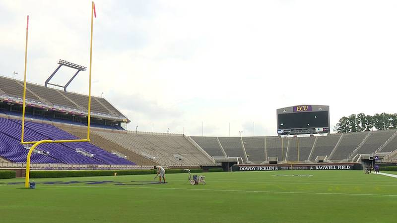 ECU has its first home game on Saturday with South Carolina.