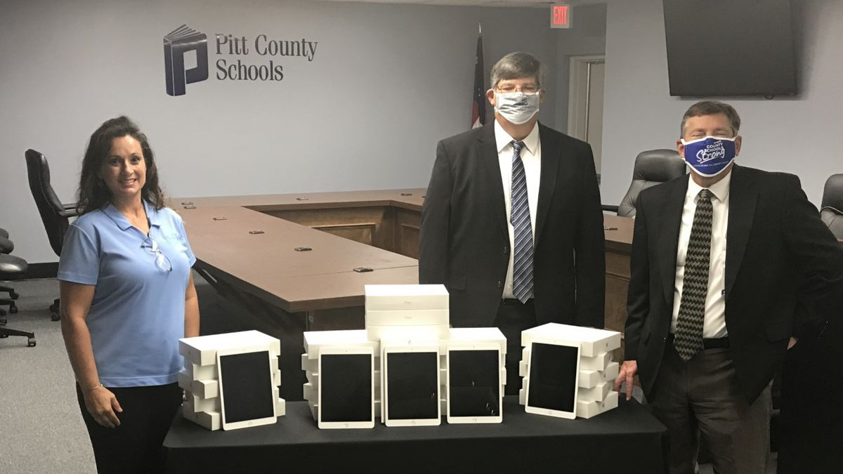Suddenlink has donated $50,000 worth of iPads