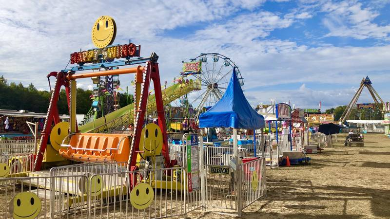 The fair has started in Lenoir County and lasts until Saturday.