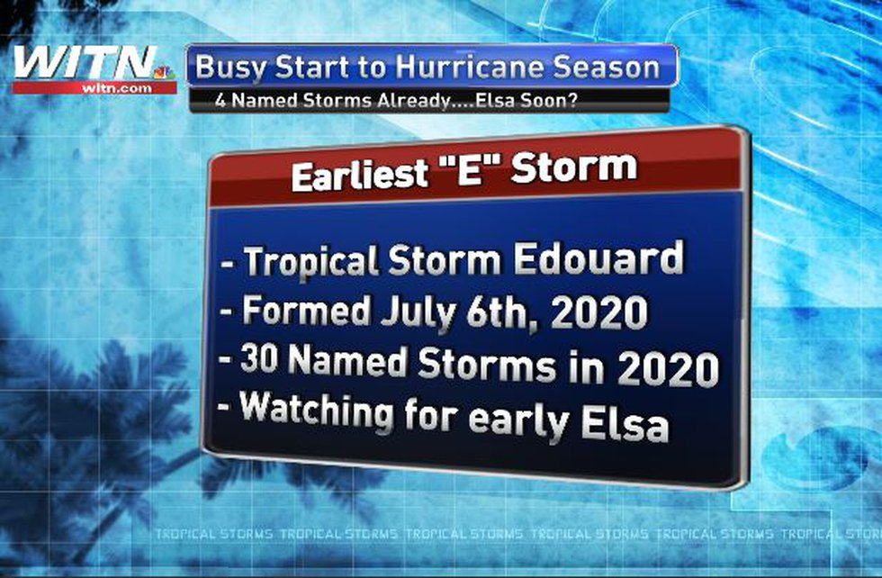 Elsa may form this weekend.