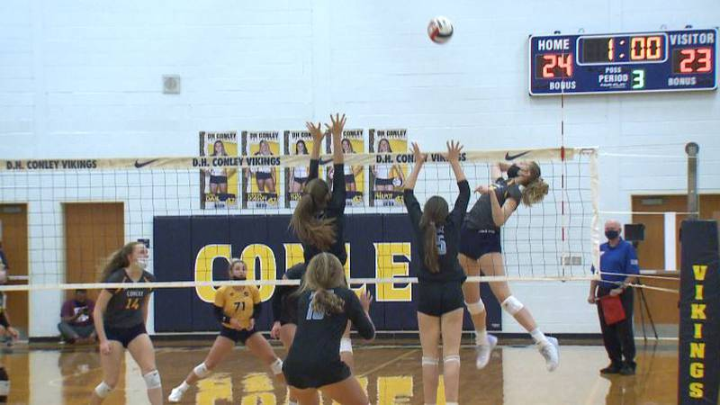 Conference Championship match sees D.H. Conley Sweep J.H. Rose 3-0