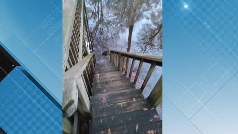 Water levels in Duplin County trap woman inside her home