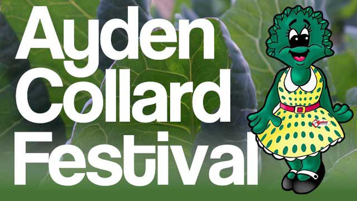 The 2020 Ayden Collard Festival has been cancelled due to COVID-19.