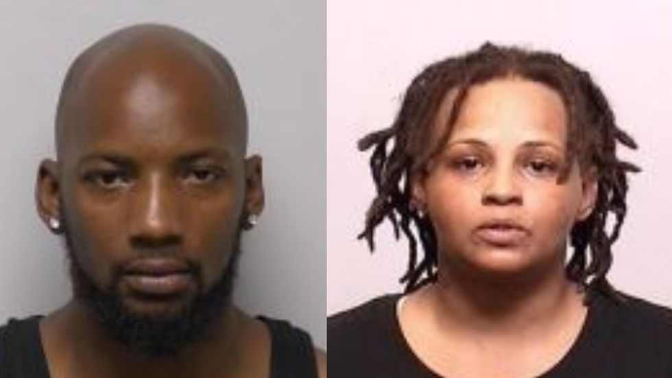 Leon Mitchell and Tyrabia Parker were arrested Friday in connection to Spencer's death