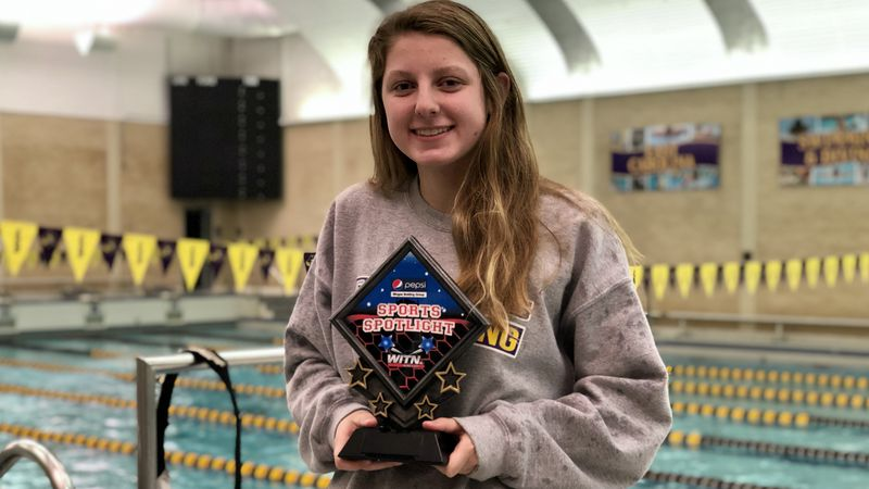 Emma Hastings - WITN Sports Spotlight - J.H. Rose Swimmer - NC State Commit
