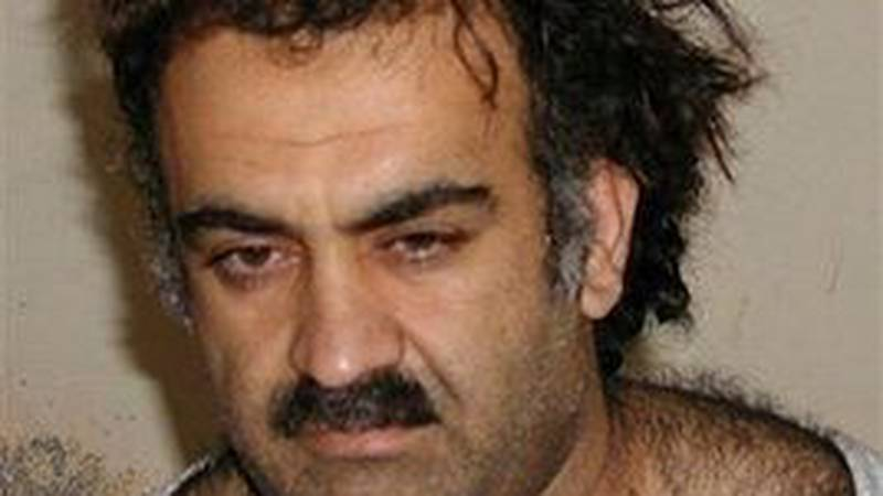 FILE -- In this March 1, 2003 file photo, Khalid Sheikh Mohammed is seen shortly after his...