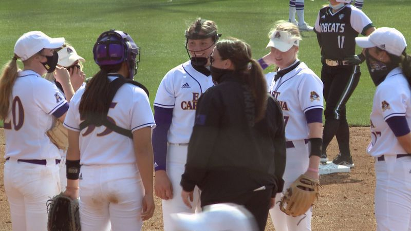 ECU softball hosts Ohio