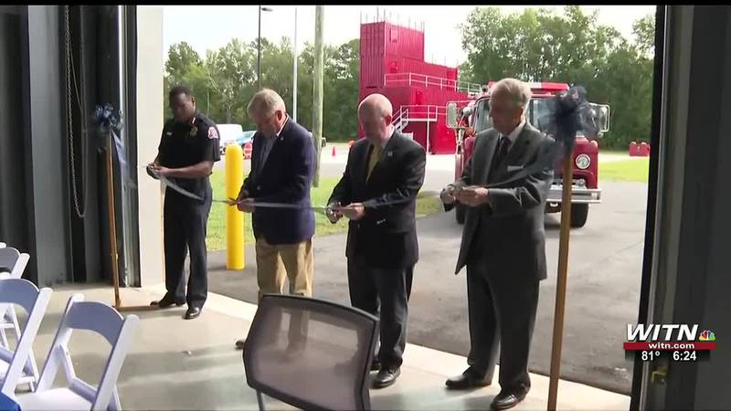 Public safety training center opens at Beaufort county Commuinty College