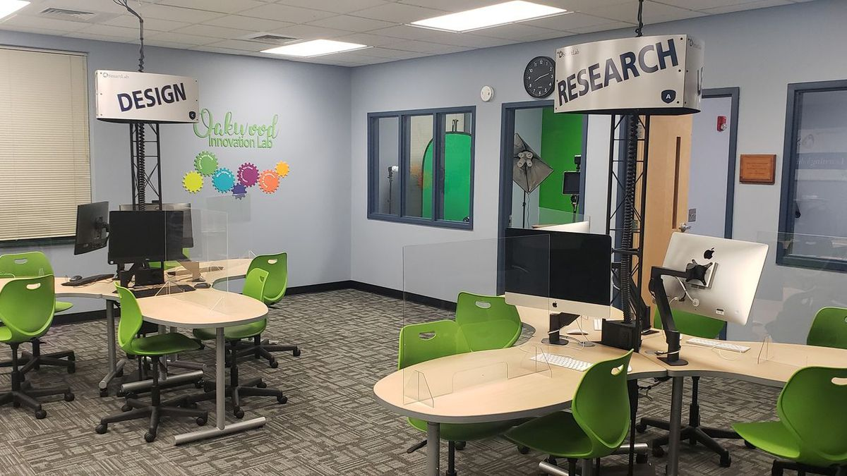 Innovation Lab at the Oakwood School