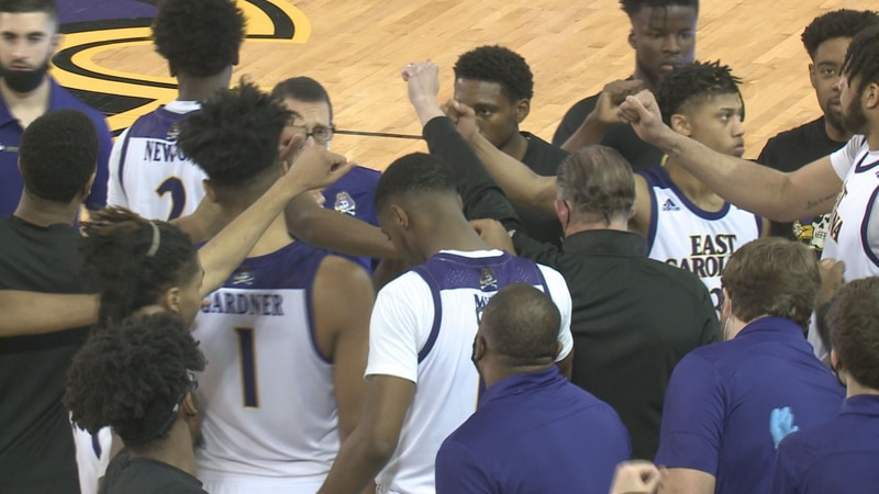 ECU men's basketball hosts Cincinnati on Sunday, March, 7, 2021