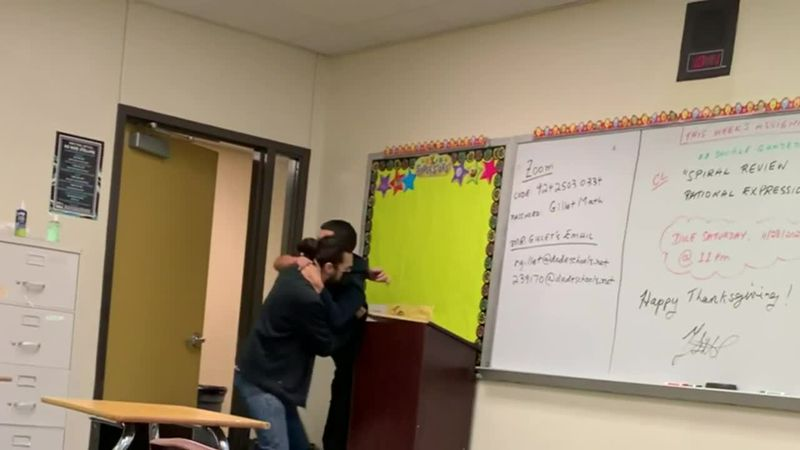 The school district is investigating the incident. The substitute will not be placed at any...