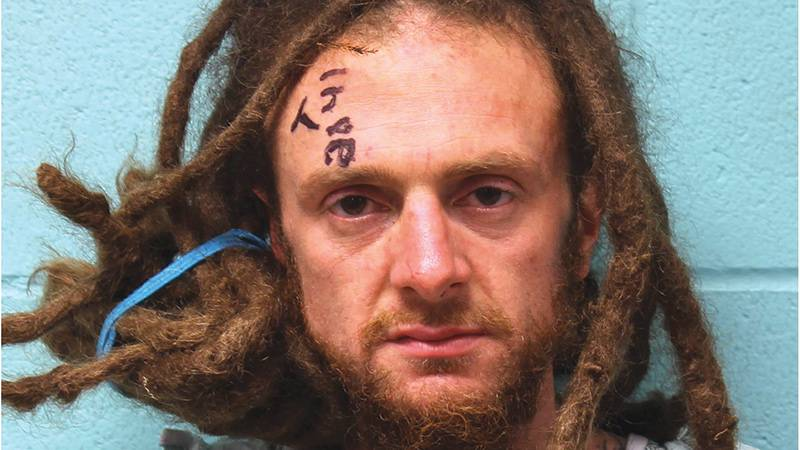 This is a new mug shot of Robert Strother.