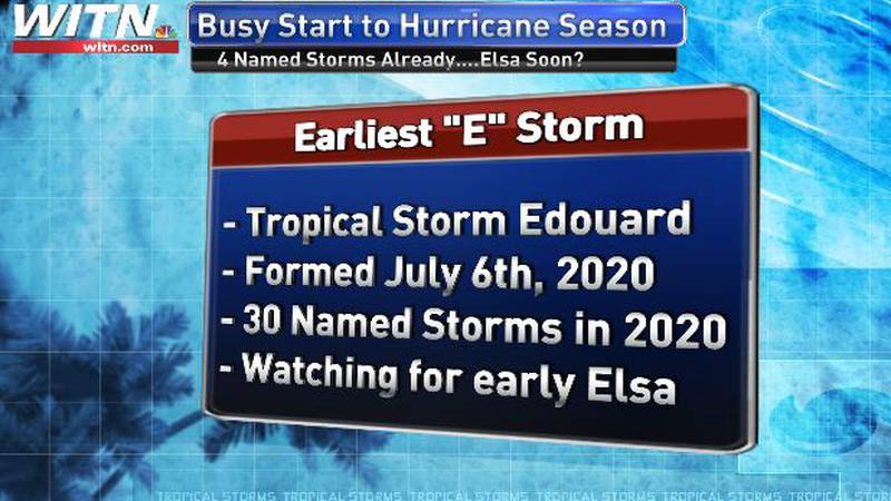 Elsa may form this coming weekend.