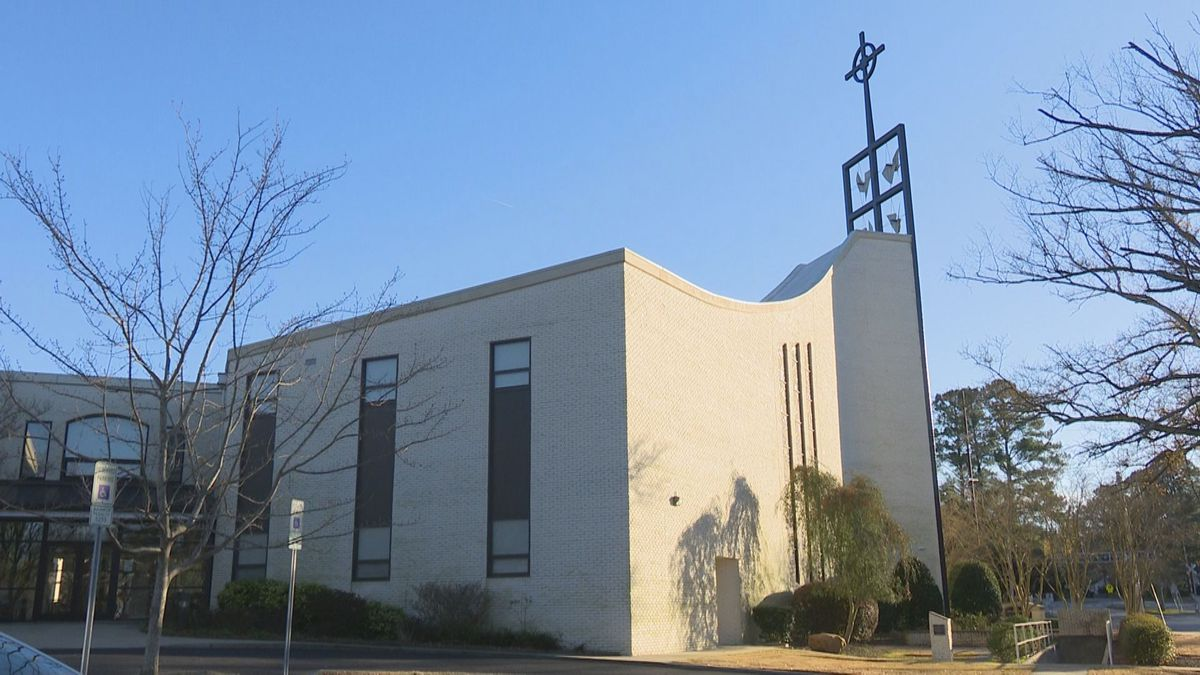 First Presbyterian Church in Greenville went back to online only worship and suspended...