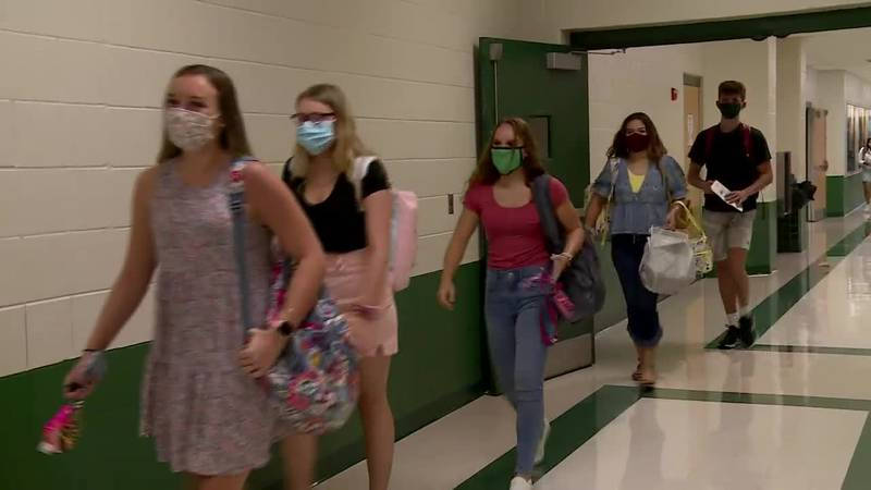 The CDC is recommending all students and staff wear masks at school this fall, even if they've...