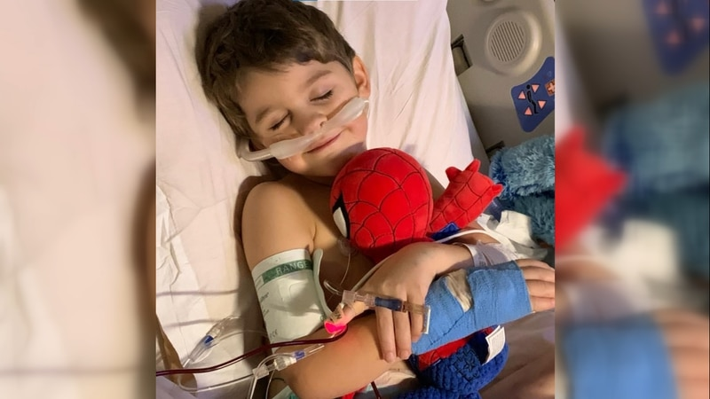 Greenville family fights for five-year-old son's life at Duke Medical Center